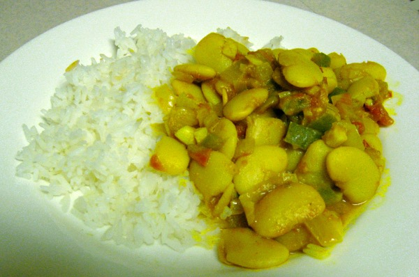 Jamaican Recipescurried Lima Beans Ital Recipe